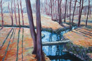painting-impressionism-trees-brook