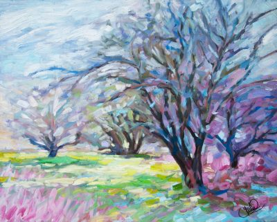 painting-spring-garden-oil-canvas