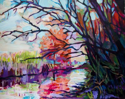 painting-impressionism-river-trees