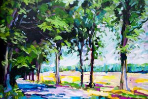 painting-impressionistic-road-trees